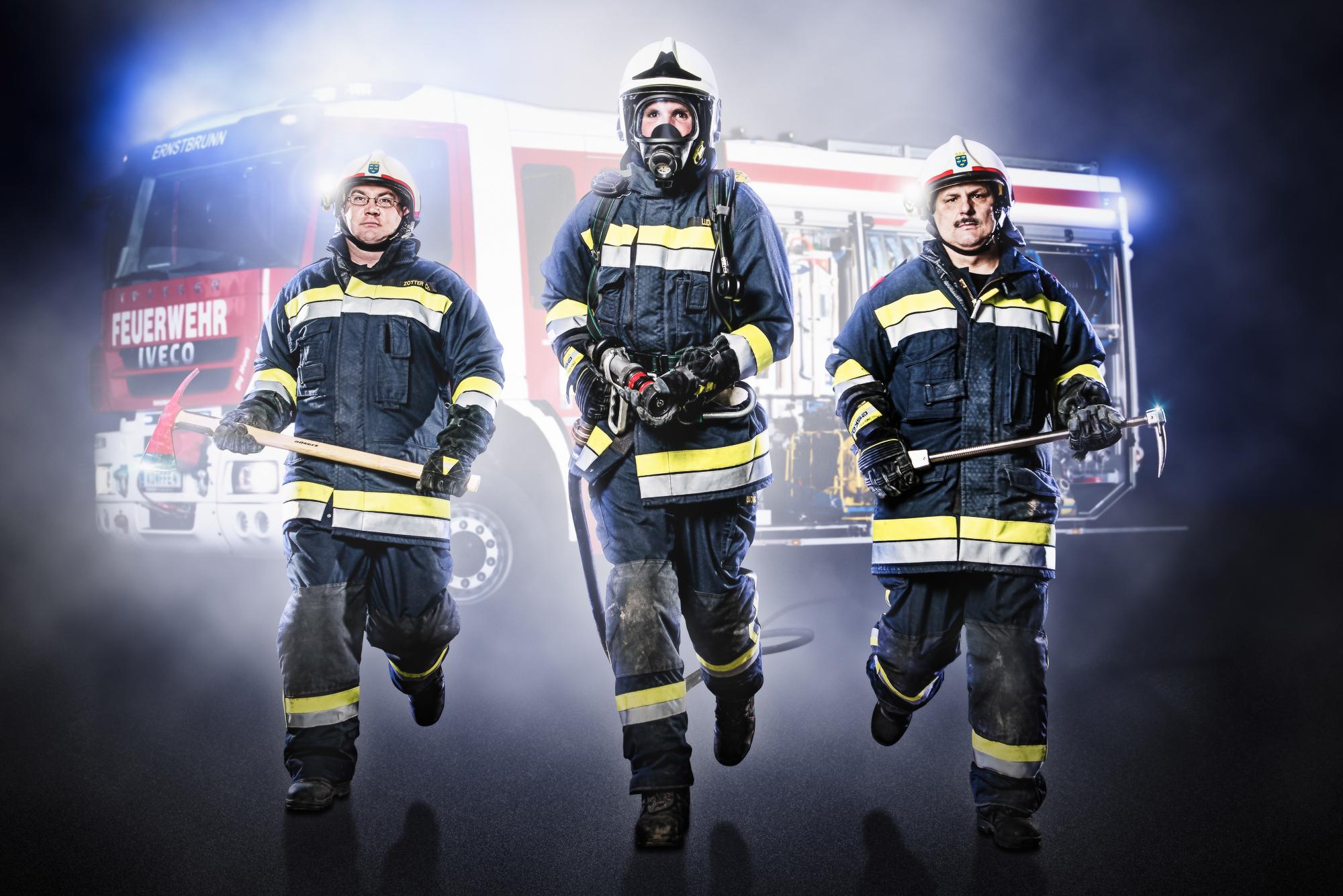 Freiwillige Feuerwehr Ernstbrunn Shooting aus Commercial-Portfolio