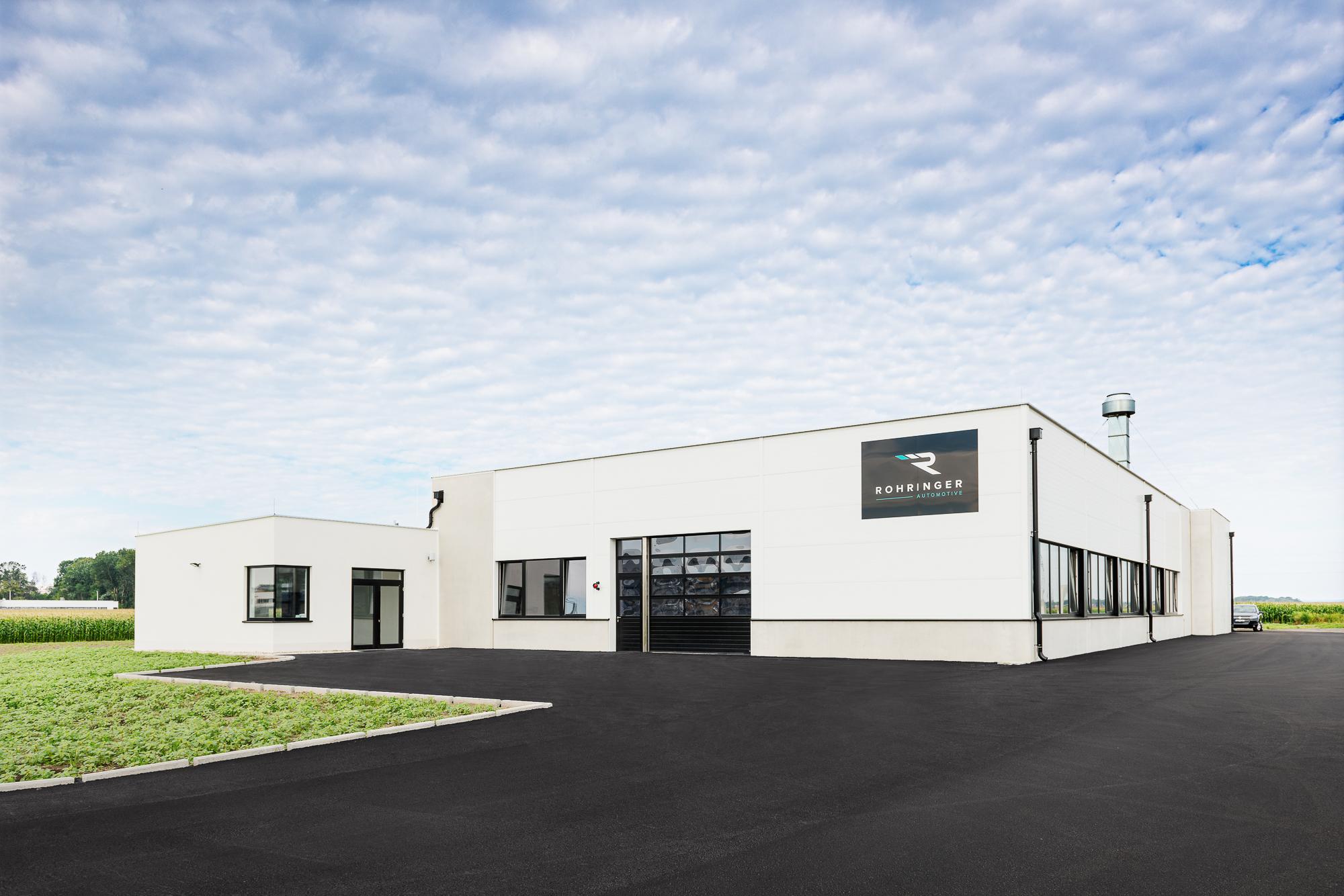Rohringer Automotive Firmengebäude Shooting aus Commercial-Portfolio