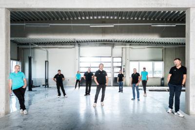 Rohringer Automotive Team-Shooting auf People-Portfolio